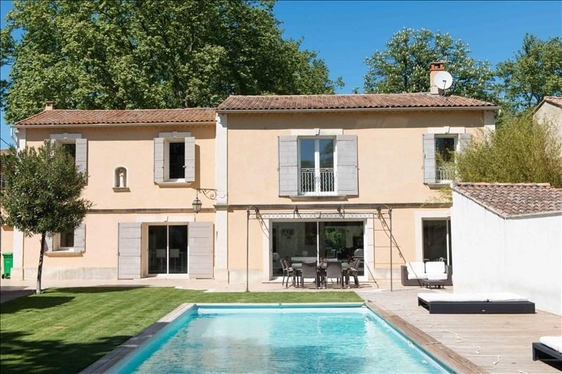 Revenda residencial de prestígio casa Montfavet 657000€ - Fotografia 1
