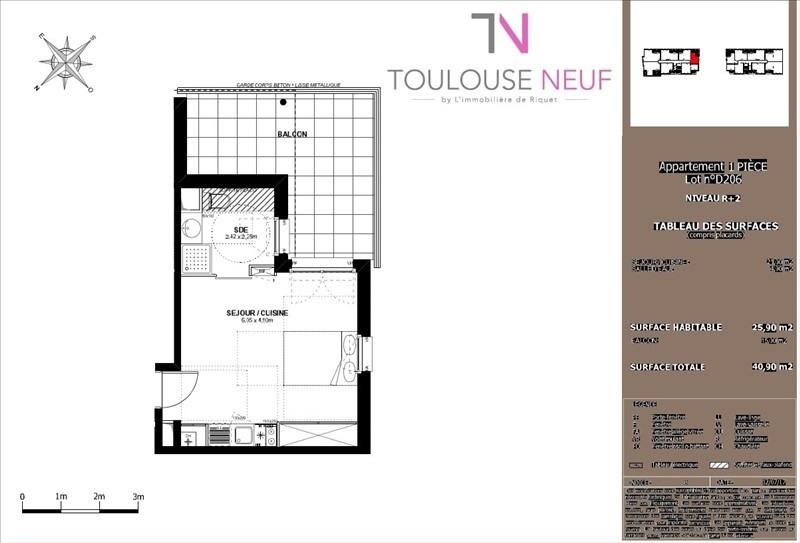 Vente appartement Toulouse 149000€ - Photo 6