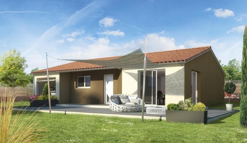 Maison  4 pièces + Terrain 1100 m² Les Ancizes-Comps par ELAN AUVERGNE