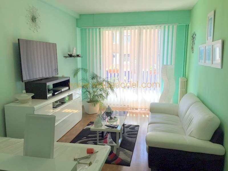 Vendita nell' vitalizio di vita appartamento Nice 77500€ - Fotografia 1