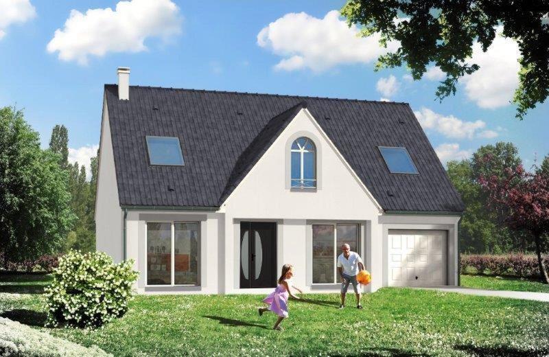 Maison  5 pièces + Terrain 1300 m² Quincampoix par RESIDENCES INTER ROUEN