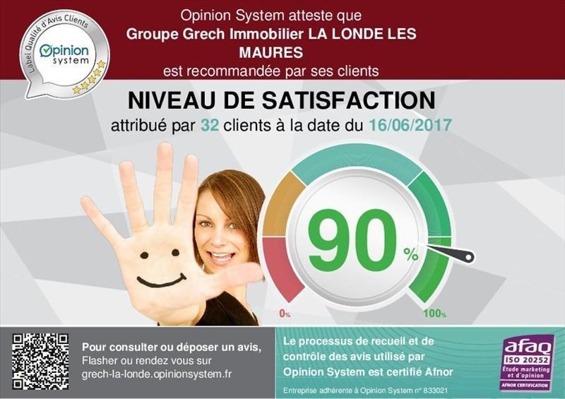 Sale office La londe les maures 472500€ - Picture 4