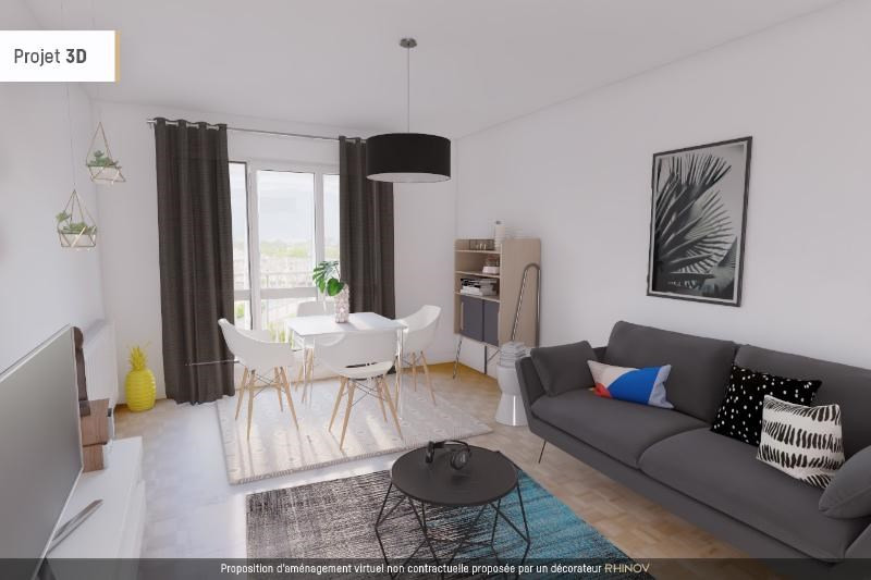 Location appartement Saint martin d'heres 750€ CC - Photo 1