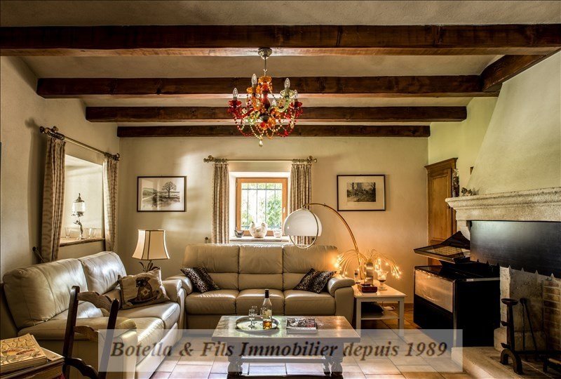 Verkauf von luxusobjekt haus Barjac 695000€ - Fotografie 4