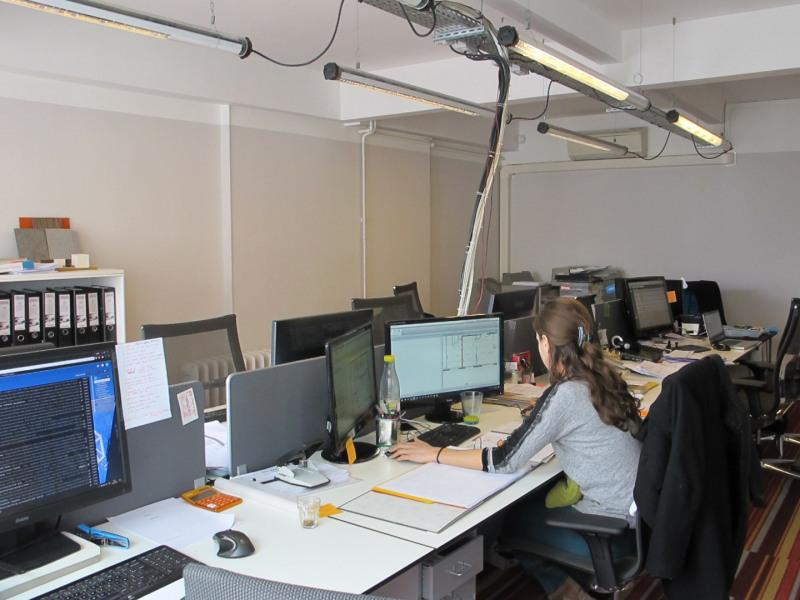 Alquiler  oficinas Paris 10ème 3062,25€ +CH/ HT - Fotografía 1