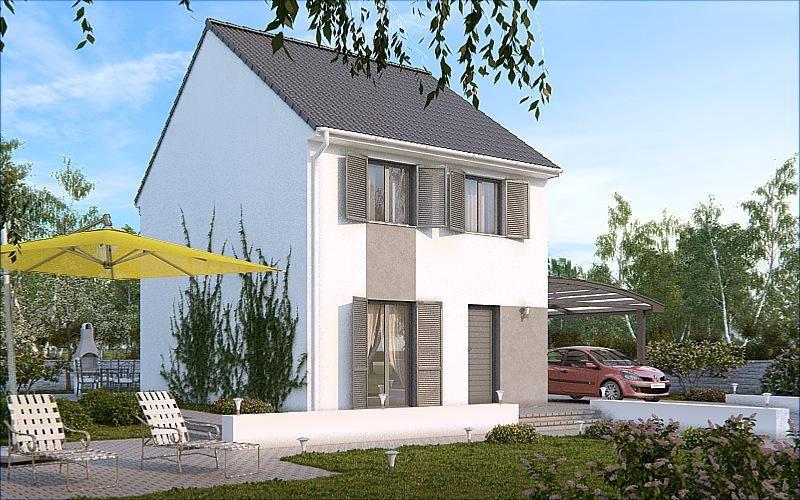 Maison  5 pièces + Terrain 492 m² Compiègne par MAISON PIERRE