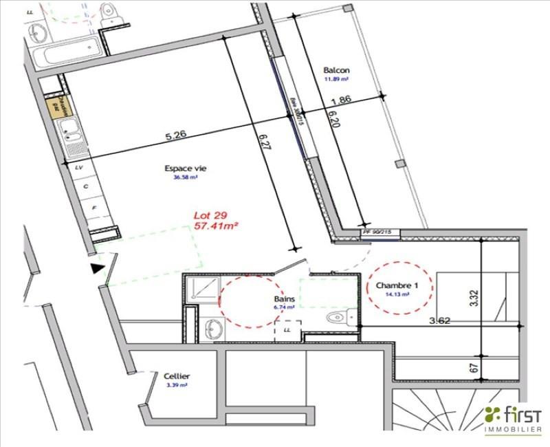 Sale apartment Balme de sillingy 233000€ - Picture 2