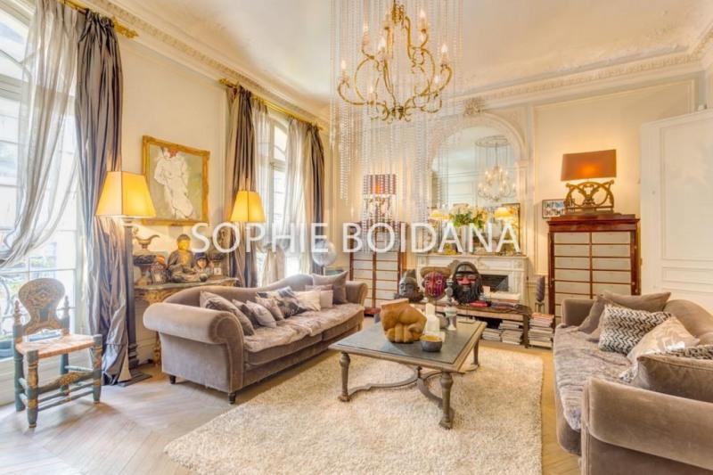 Vente de prestige appartement Paris 17ème 3980000€ - Photo 5