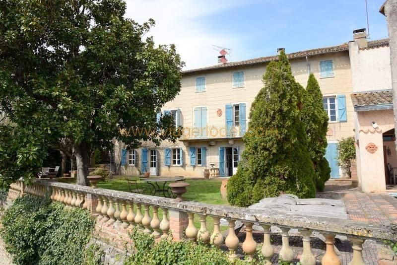 Vendita nell' vitalizio di vita casa Montricoux 335000€ - Fotografia 1