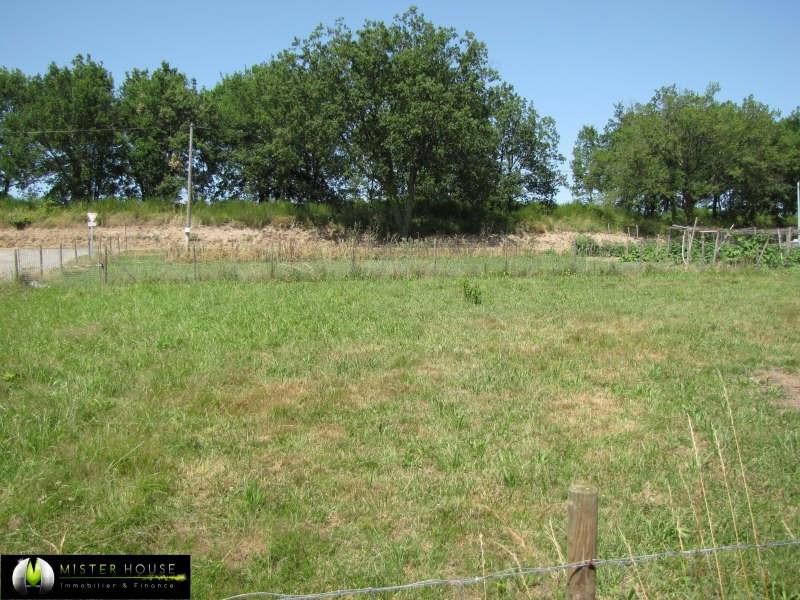Vente terrain Fabas 62000€ - Photo 1