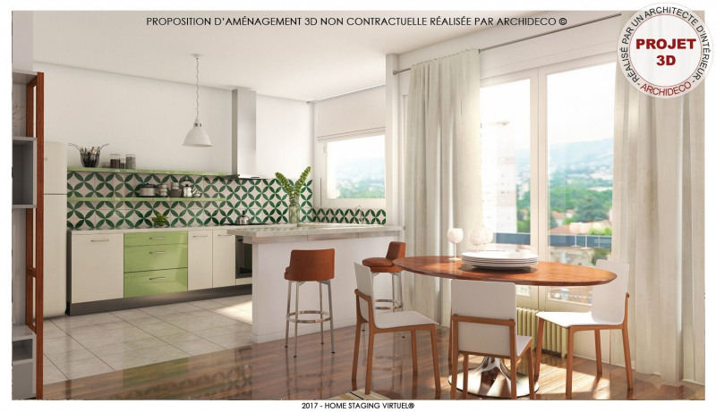 Vente appartement Firminy 89 000€ - Photo 2