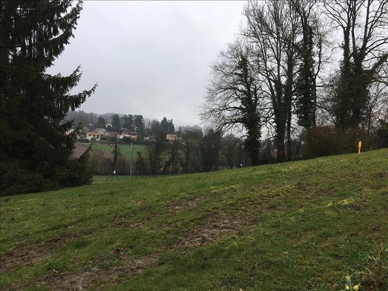 Vente terrain Villieu loyes mollon 80000€ - Photo 1