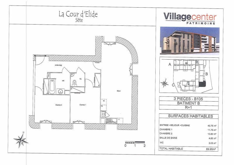 Rental apartment Sete 811€ CC - Picture 5