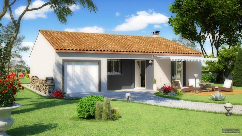 Maison  4 pièces + Terrain 350 m² Moussan par MARCOU HABITAT
