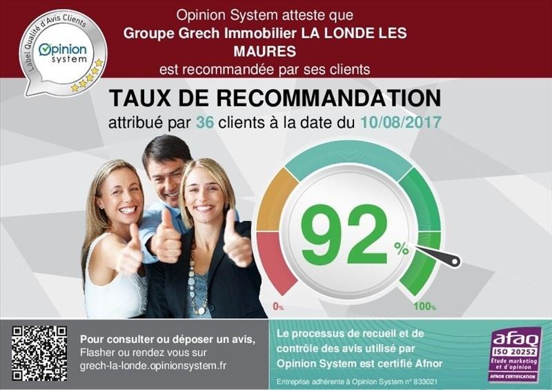 Verkoop  huis La londe les maures 420000€ - Foto 11