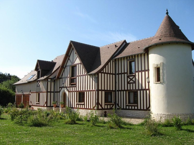 Revenda residencial de prestígio casa Canapville 795000€ - Fotografia 3