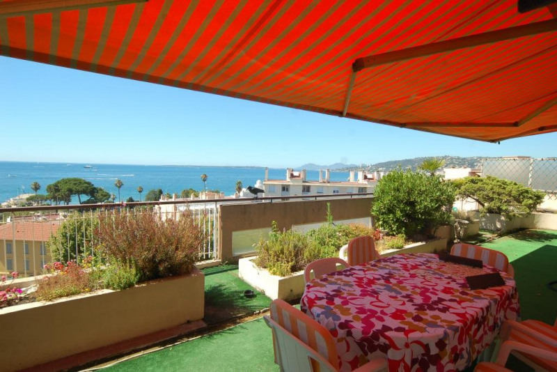 Deluxe sale apartment Juan-les-pins 1 360 000€ - Picture 2