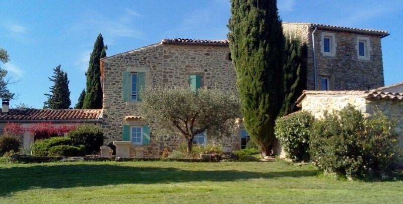 Vente de prestige maison / villa Barjac 995000€ - Photo 2