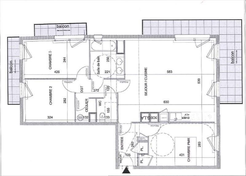 出售 公寓 Parame 304160€ - 照片 2