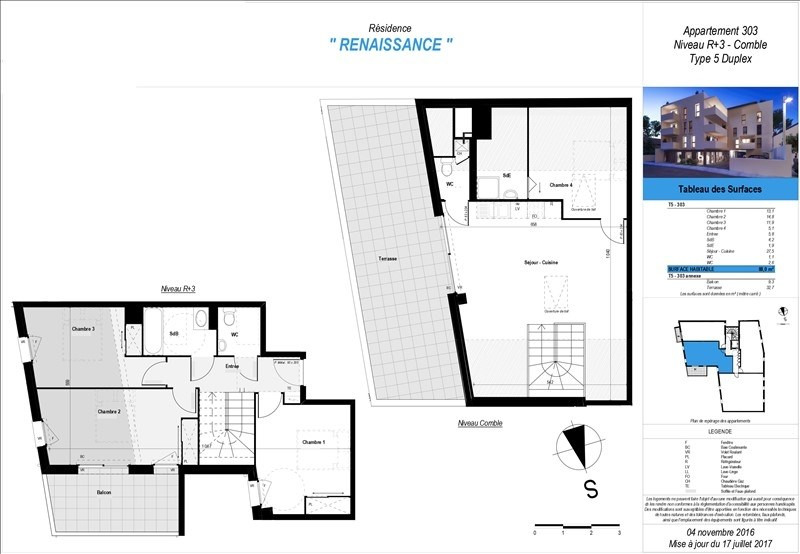 Sale apartment Boucau 269800€ - Picture 2
