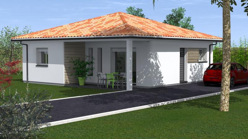 """Modèle de maison  """"Maison 3 pièces"""" à partir de 3 pièces Landes par MAISONS CONFORECO - AGENCE ST PAUL LES DAX"""