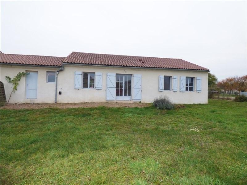 Vente maison / villa Charroux 148000€ - Photo 1