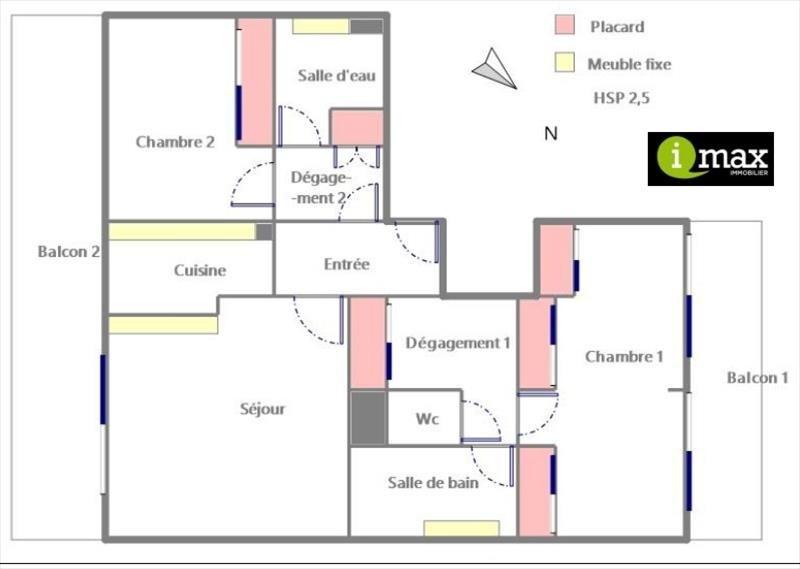 Vente appartement Clichy 660000€ - Photo 6