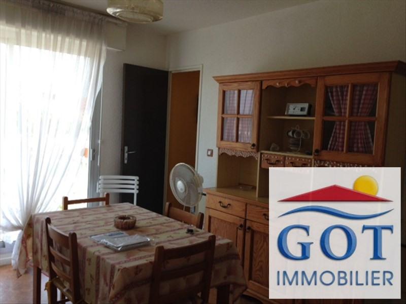 Verhuren  appartement Le barcares 480€ CC - Foto 3