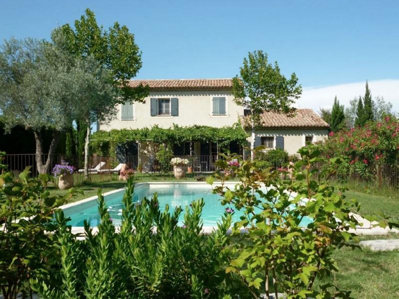Revenda residencial de prestígio casa Rochefort du gard 625000€ - Fotografia 3