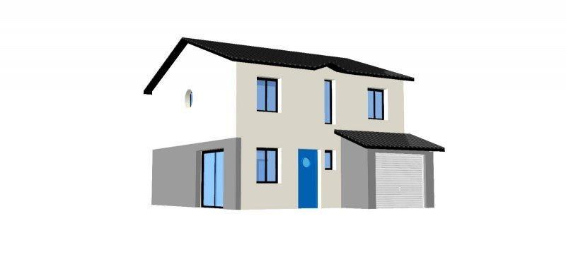 Maison  4 pièces + Terrain Arnas par Design Batiment Maximmo