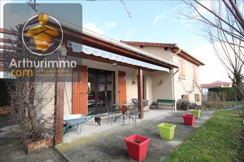 Vente maison / villa Veauche 229000€ - Photo 1