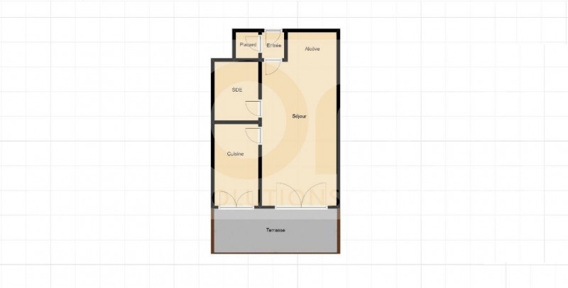 Vente appartement Nice 185000€ - Photo 8
