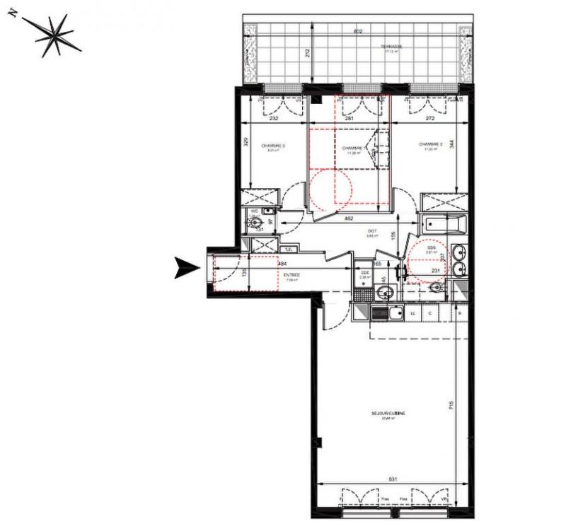 Vente appartement Levallois perret 927000€ - Photo 2