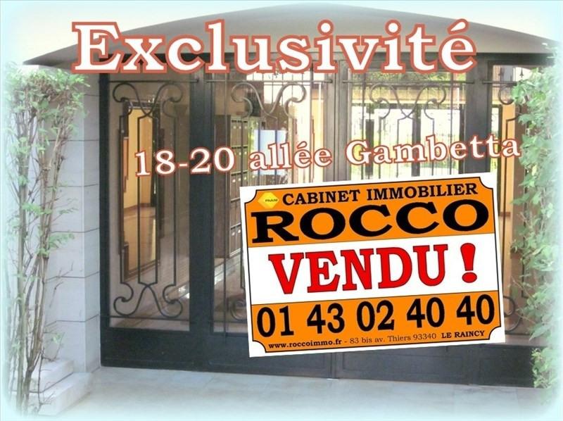 Vente appartement Le raincy 354000€ - Photo 1