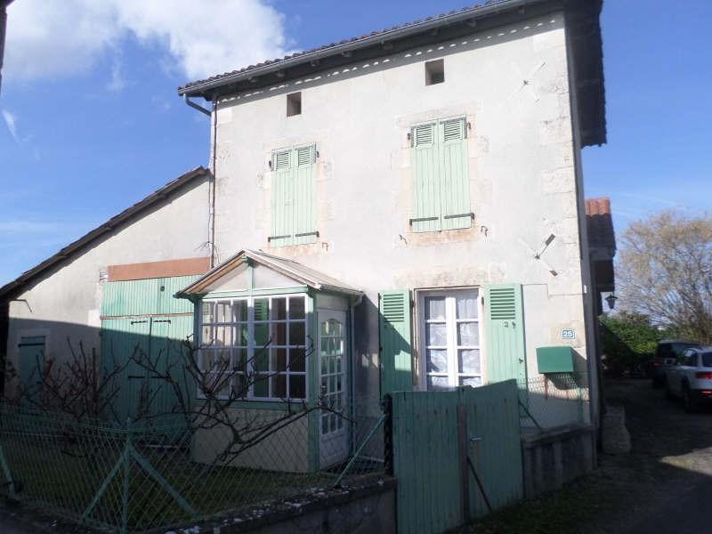 Vente maison / villa Civaux 99900€ - Photo 1