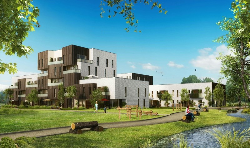 Le jardin du romarin programme immobilier neuf lomme for Programme jardin