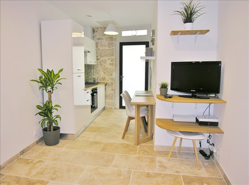 Rental apartment Antibes 750€ CC - Picture 1