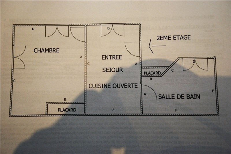 Sale house / villa Bois colombes 354 700€ - Picture 2