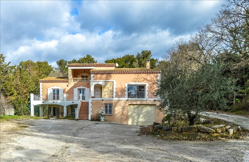 Sale house / villa Pourrieres 458000€ - Picture 2