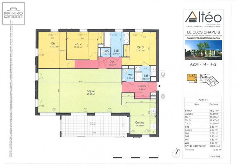 Sale building Civrieux d azergues 399 000€ - Picture 2
