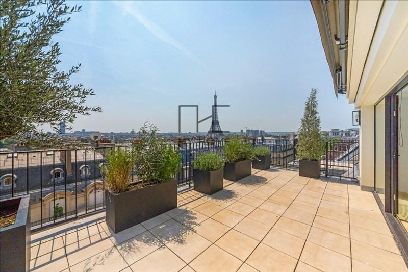 Deluxe sale apartment Paris 16ème 3640000€ - Picture 1