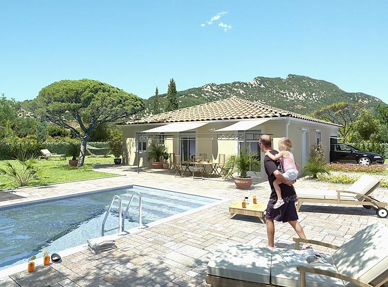 Maison  3 pièces + Terrain 400 m² Restinclières par MAISONS GUITARD