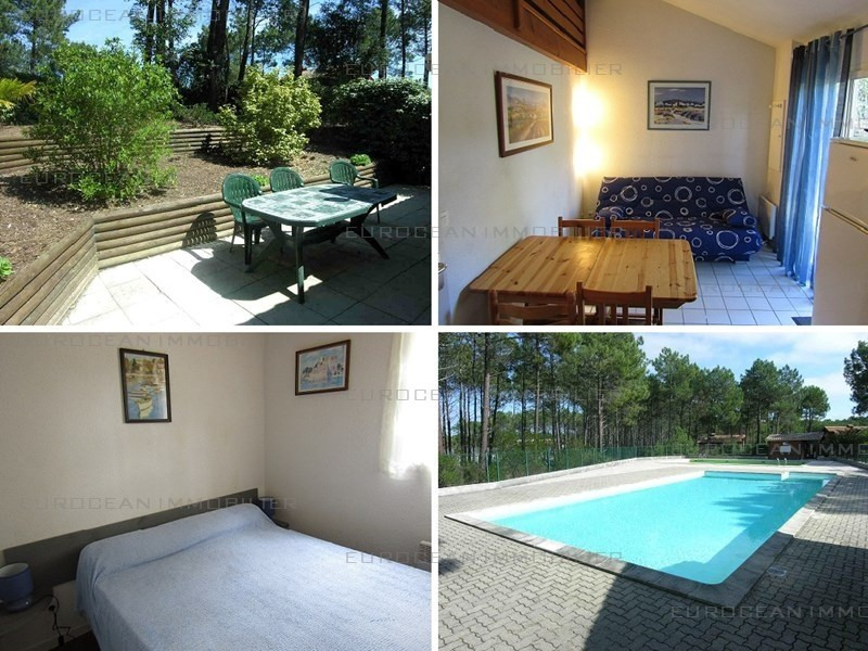 Vermietung von ferienwohnung haus Lacanau ocean 285€ - Fotografie 1