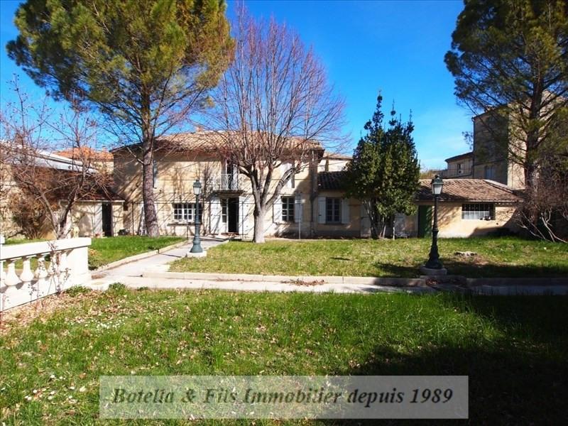 Immobile residenziali di prestigio casa Uzes 1575000€ - Fotografia 1