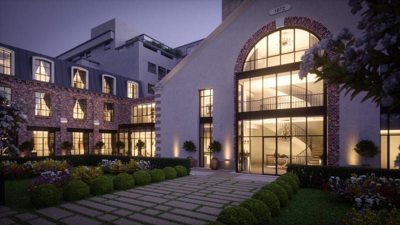 Revenda residencial de prestígio palacete Paris 7ème 39900000€ - Fotografia 3
