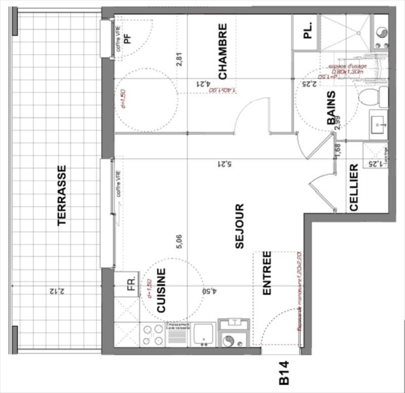 Deluxe sale apartment Bormes les mimosas 305000€ - Picture 2
