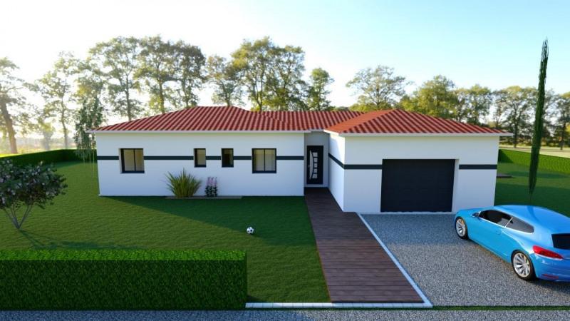 """Modèle de maison  """"Maison Le Taillan 5 pièces"""" à partir de 5 pièces Gironde par ALAIN PIERRE CONSTRUCTIONS"""