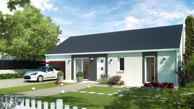 Maison  4 pièces + Terrain 835 m² Digoin (71160) par SARL MAISON ET JARDIN
