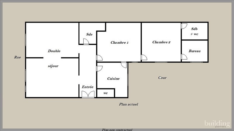 Vente Appartement 5 pièces 106m² Paris 17ème