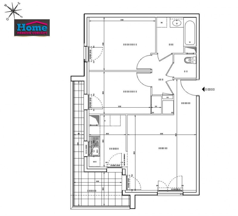 Sale apartment Rueil malmaison 443000€ - Picture 2